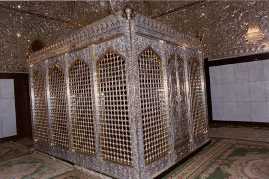 Le tombeau de Cheikh Abdal Qadir Al Jilani à Bagdad